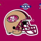 San Francisco 49ers Flag super bowl 3ftx5ft Banner 100D Polyester flag