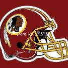 Washington Redskins helmet flag 3x5 FT Banner 100D Polyester Flag Brass Grommets