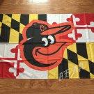 Baltimore Orioles Maryland Flag 3ft x 5ft Polyester Baltimore Ravens