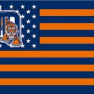 Detroit Tigers flag stars stripes 3ftx5ft Banner 100D Polyester Flag