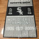 Chicago White Sox champion ship flag 3ftx5ft Banner 100D Polyester Flag 3ft x 5ft
