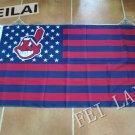 C Logo Cleveland Indians Flag Baseball Super Fan Team Banners 3x5 ft