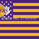 Los Angeles Lakers Basketball Team 90*150cm Sports Fan Flag 3x5 FT