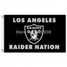 Supper Oakland Raiders LOS ANGELES RAIDER NATION Team Banne Flag 3x5 FT