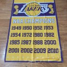 Los Angeles Lakers flag 3ftx5ft champion Banner 100D Polyester Flag3x5 FT