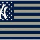 New York Yankees flag 3ftx5ft Banner 100D Polyester Flag metal Grommets