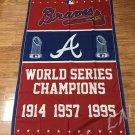 Atlanta Braves flag championship banner flag 3x5FT 100D polyester  logo