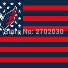 Washington Capitals Hockey Sports Team Star & Stripe US National Flag 3ft X 5ft