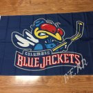 Columbus Blue Jackets flag 3ftx5ft Banner 100D Polyester Flag metal Grommets