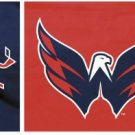 Washington Capitals Flag 3x5 FT 150X90CM Banner 100D Polyester flag 1127