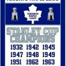 Toronto Maple Leafs flag 3ftx5ft Banner 100D Polyester Flag metal Grommets