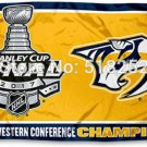 Nashville Predators 2017 Western Conference Champions Flag 3x5 FT