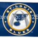 St. Louis Blues Flag 3x5 FT 150X90CM Banner 100D Polyester flag 1120