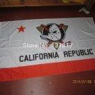 anaheim ducks with california republic flag 3x5 FT