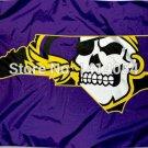 East Carolina University Pirates Flag 150X90CM NCAA 3X5FT Banner