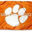 Clemson Tigers CU University Large College Flag 3x5 FT 150X90CM