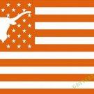 3X5FT  Texas_Longhorns logo flag US stripes banner