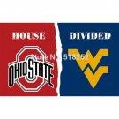 Ohio State Buckeyes VS West Virginia Mountaine Flag 3x5 FT 150X90CM Banner