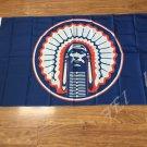 Illinois Fighting Illini flag 3ftx5ft Banner 100D Polyester Flag metal Grommets