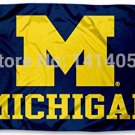 University of Michigan Wolverines flag 150X90CM 3X5FT Banner 100D Polyester