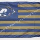 University Of Akron Zips Flag NCAA 3ft X 5ft Polyester Banner Flying