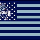 3ftx5ft American Stripes Utah State Aggies flag  University Union Banner
