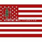 3X5FT Stanford Cardinal flag custom banner 100D Polyester Flag