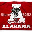 Alabama Crimson Tide new logo Flag 3x5FT 150X90CM  Banner