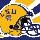 Louisiana State University Tigers helmet Flag LSU Hot Sell Goods 3X5FT