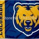 Northern Colorado Bears Wordmark Flag Banner New 3x5FT 90x150CM Polyester 9491