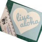 Live Aloha (Heart) vinyl decal - Available in all colors/sizes!  Hawaii / Hawaiian