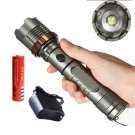 3000LM Rechargeable Cree XML T6 LED Flashlight Tactical Police+Battery+Charger