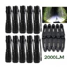 10 Set X800 Tactical Flashlight LED Military Lumens Alonefire ShadowHawk Set