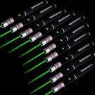 10PC Powerful 5mw 532nm Green Laser Pointer Pen High Power Laser Pen Pointer