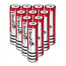 10PC Ultrafire 4000mAh Rechargeable 18650 Battery Li-ion 3.7V 18650 Battery