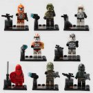 Star Wars Jedi Clone Troopers Minifigure Compatible Lego Bricks Birthday Gift