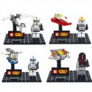 Star Wars Jedi Warrior Clone Trooper Minifigure Spaceship Lego Compatible Boy