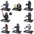 Star Wars Jedi Kylo Ren Imperial Storm Trooper Minifigure Lego Compatible Boy's Building Toys