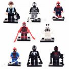 Super Hero Marvel Spiderman Peter Parker Minifigure Lego Spiderman Fit Toys