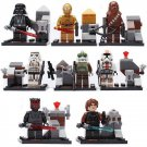 Star Wars Jedi Darth Vader Maul Minifigure Lego Star Was Minifigures Compatible
