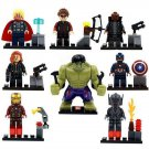 Super Hero Marvel Avenger Hulk Ironman Lego Super Heroes Minifigures Compatible