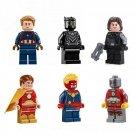 Marvel DC Captain America Konami Winter Soldier Lego Superhero Minifigures Fit Toys