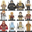 Game of Thrones Minifigures Song of Ice and Fire Lego Minifigures Sets Compatible Toy
