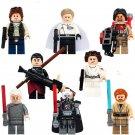 Star Wars Minifigure Han Solo Palpatine Obi-Wan Lego Bricks Compatible toys