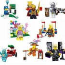 Baseball Players Collection Sports Minifigures Lego Baseball Minifigures Compatible Toys