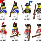 Pirates of the Caribbean Imperial Royal Guards Lego Pirates Minifigures Compatible Toys