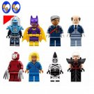Mayor Ton Batgirl Mr. Freeze Kabuki Cnins Zebra Man Magpie Lego Minifigure Compatible Toys