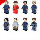 Star Trek Enterprise Uhura Scotty Eoward Minifigures Lego Compatible toys