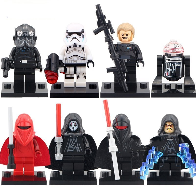 Star Wars 7 Shadow Troopers Lego Star Wars minifigures Compatible toys