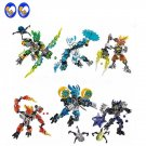 Jungle Rock Water Earth Ice Fire Compatible Lego BIONICLE series Building Toys